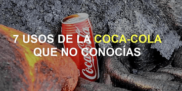 7 usos desconocidos de la Coca-Cola. Si eso le hace a un inodoro... ¿qué le hará al cuerpo? :O