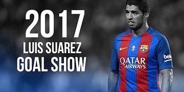 Luis Suarez - Amazing Goal Show - 2016/17 HD