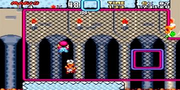 Super Mario World - Boss Stage: Iggy's Castle - SNES - Super Nintendo - HD