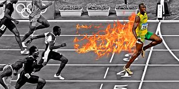 Evolução da competição do Usain Bolt| 2004 ➔ 2017