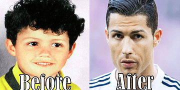 5 Famous Football Players Before And After 2016 #2
