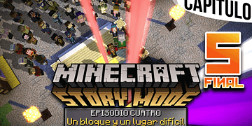 MINECRAFT: STORY MODE   Ep. 4 Cap. 5 SE ACABÓ, HASTA SIEMPRE REUBEN   Gameplay en Español