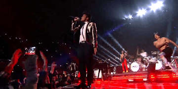 Super Bowl 48 Bruno Mars-Full Performance Halftime Show HD