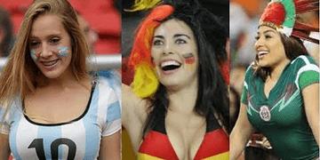 Las Fans Más Sexys en el FUTBOL Por ésto y más amo el Deporte mujeres hermosas