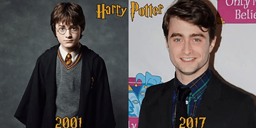 Harry Potter Before And After 2017