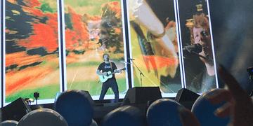 Ed Sheeran - Castle on the hill | Divide Tour | São Paulo - Brasil (28/05/17) 4K