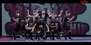 Apresentação do grupo de dança R3D ZONE