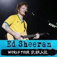 Ed Sheeran - Divide Tour em SP, Brasil | 4k