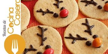 Galletas caseras para hacer con niños en Navidad