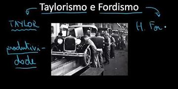 Linha de montagem - Taylorismo e Fordismo - Sociologia - HORA DO ENEM