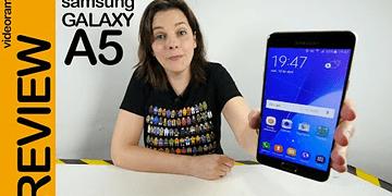 Samsung A5 2016 review en español | 4K UHD