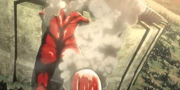 1era Aparición Titan Colosal