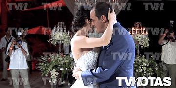 Cuauhtémoc Blanco feliz en su exclusiva boda por la Iglesia