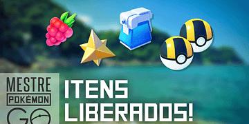 Itens liberados por nível no Pokémon GO!