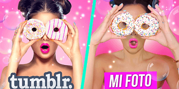 RECREATING TUMBLR PICTURES WITH FOOD | Mariale