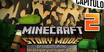 MINECRAFT: STORY MODE   Ep. 4 Cap. 2 RUMBO A LAS TIERRAS LEJANAS   Gameplay en Español