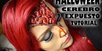 Maquillaje Cerebro Expuesto Halloween| LoLo Love