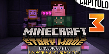 MINECRAFT: STORY MODE | Ep. 4 Cap. 3 EL LABORATORIO SECRETO DE IVOR | Gameplay en Español