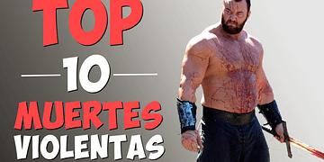 TOP 10 Muertes impactantes | Juego de Tronos HD