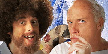 Bob Ross vs Pablo Picasso. (Subtítulos en Español). Epic Rap Battles of History Season 3.