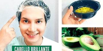 HAIR MASK FOR SHINE AND NUTRITION / AVOCADO MASK