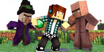 Minecraft - 10 Curiosidades Sobre o Villager !!