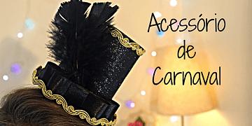 DIY: Enfeite de Cabelo CARNAVAL por Elisa Bighetti