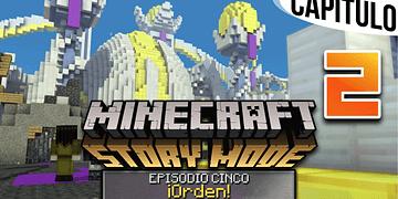 MINECRAFT: STORY MODE   Ep. 5 Cap. 2 BIENVENIDOS A CIUDAD CELESTIAL   Gameplay en Español