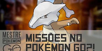 Missões diárias no Pokémon GO?!