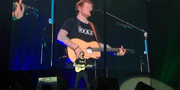 Ed Sheeran - Nancy Mulligan | Divide Tour | São Paulo - Brasil (28/05/17) 4K