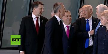 ¡América primero! - Trump empuja al primer ministro de Montenegro