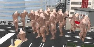 WTF Japan: Eagle Dance