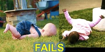Caídas y FAILS de Niños!! Muy Locos!!