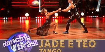Jade e Teo dançam tango e conquistam os jurados