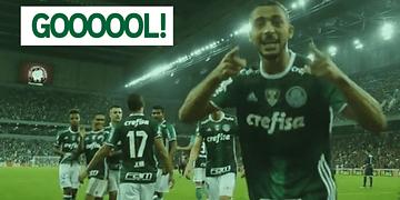 GOL - Vitor Hugo - Atlético (PR) 0 x 1 Palmeiras