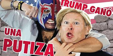 Donald Trump VS Escorpión Dorado al Volante
