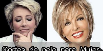Cortes de Cabello Mujer - Moda 2017 para Mujeres 30, 40, 50 años... ❤