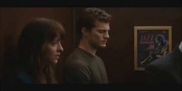 Fifty Shades of Grey Elevator scene