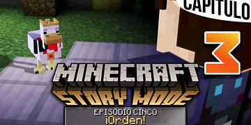 MINECRAFT: STORY MODE   Ep. 5 Cap. 3 DESCUBRIENDO LA FUENTE ETERNA   Gameplay en Español