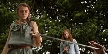Joffrey Contra Arya - Muerte de Dama | Juego de Tronos Español HD