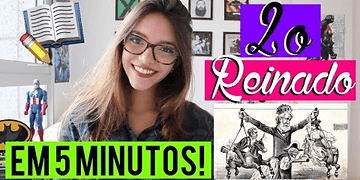 Segundo Reinado em 5 MINUTOS! - (50 minutos em 5) Débora Aladim