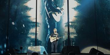 Ed Sheeran - Feeling Good & I See Fire | Divide Tour | São Paulo - Brasil (28/05/17) 4K
