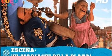 Coco de Disney•Pixar | Escena: 'El mariachi de la plaza' | HD