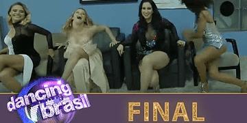 Elenco e produção entram na dança em final eletrizante do Dancing Brasil