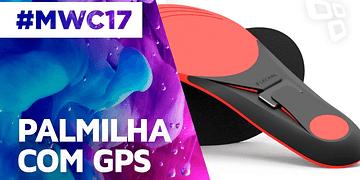 Lechal Footwear: Dispositivo para Palmilha - MWC 2017 - TecMundo