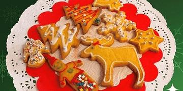 Cómo hacer bonitas Galletas de Navidad, recetas para niños
