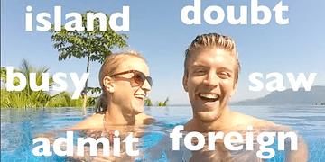 20 palavras difíceis em inglês: edição na piscina! | Dica #25