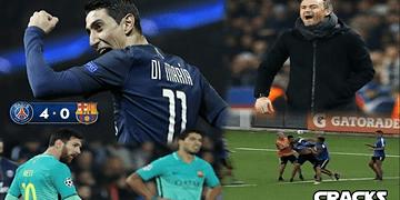 PSG GOLEA 4-0 al BARÇA ¿Podrán remontar? | Luis Enrique EXPLOTÓ | A GOLPES en BOCA Jrs