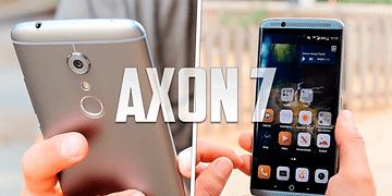 ZTE Axon 7, review en español