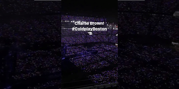 #ColdplayBoston - 4 August 2017